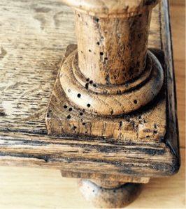 Como eliminar la polilla de los muebles de madera