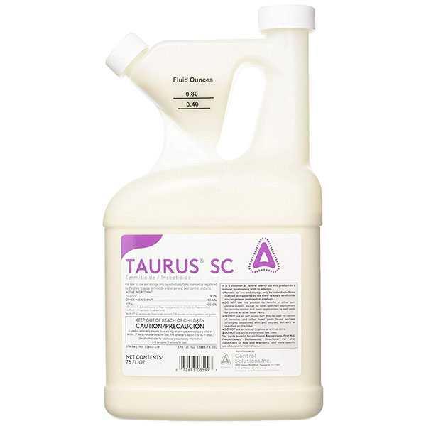 productos para eliminar termitas - Taurus SC