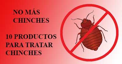 Productos para tratar chinches